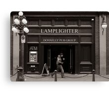 LAMPLIGHTER Canvas Print
