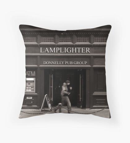 LAMPLIGHTER Throw Pillow