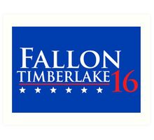 Fallon for President 16 Art Print