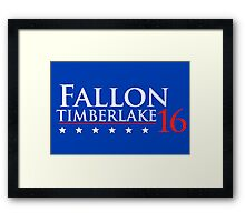 Fallon for President 16 Framed Print