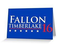 Fallon for President 16 Greeting Card