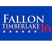 Fallon for President 16 Photographic Print