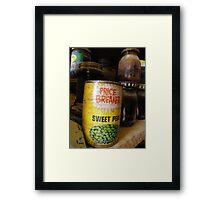 price breaker Framed Print