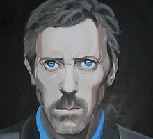 Hugh Laurie by Amba