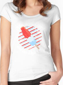 Rocket Pop- Me and Earl Women's Fitted Scoop T-Shirt