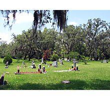 The Cemetery Photographic Print