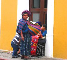 Mayan Women stop to Chat by heatherfriedman