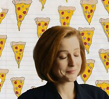 Dana Scully Pizza by emotionallypee