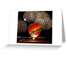 After Glow™ Fireworks Show.2 Greeting Card