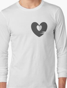Unhappy Refrain Grey Long Sleeve T-Shirt