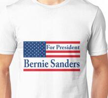 Bernie Sanders 2016 US Flag Unisex T-Shirt
