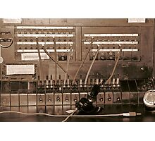 Switchboard Photographic Print