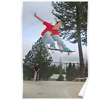 Melon Grab out of the bowl-Mariposa Skate Park Poster