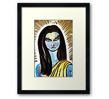 Samadhi is Love Framed Print