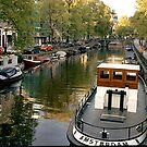 Amsterdam Tug  by Larry Costales