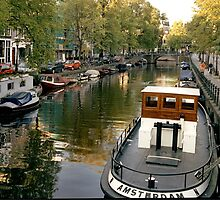 Amsterdam Tug  by Larry3