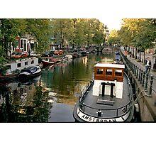 Amsterdam Tug  Photographic Print