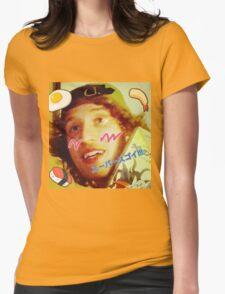 Kawaii LSD Face SKYSCRAPER Womens Fitted T-Shirt