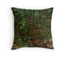 Stone Work,Stringers Creek Walhalla Throw Pillow