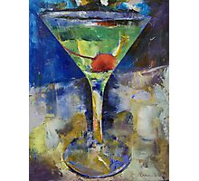 Summer Breeze Martini Photographic Print