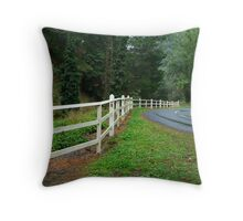 Sweeping into Walhalla,Gippsland Throw Pillow