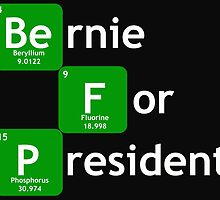 Bernie Sanders For President Chemical  by ozdilh