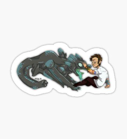 How to Train Your Kaiju Sticker