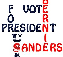 Vote Bernie Sanders For President 2016 Gifts by ozdilh