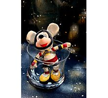 Lost In Space Mickey - Found Again Photographic Print