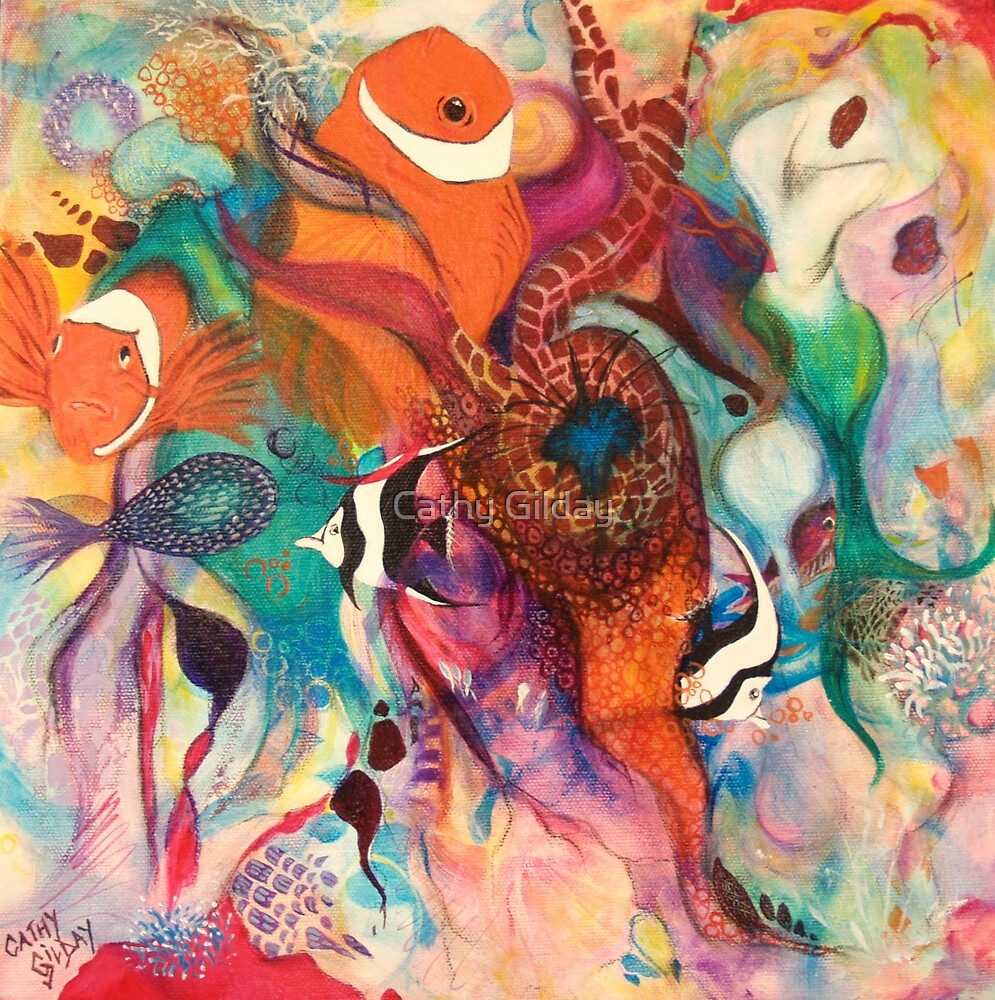 Sea of Colour by Cathy Gilday