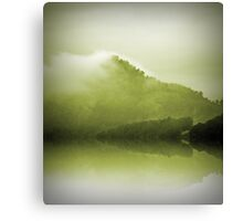 Green Mountain Mist Canvas Print