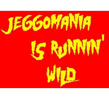Jeggomania Runnin' Wild Photographic Print