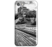 Picture postcard entrance iPhone Case/Skin