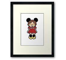 Manga Minnie Framed Print