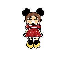 Manga Minnie Photographic Print