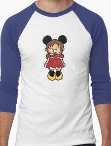 Manga Minnie Men's Baseball ¾ T-Shirt