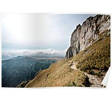 The Path to Caraiman Peak Poster