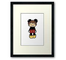 Manga Mickey Framed Print
