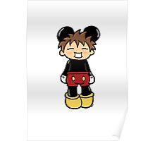 Manga Mickey Poster
