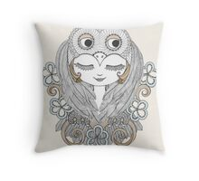 The Wise Protector Throw Pillow