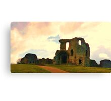 Denbigh Castle, in North Wales Canvas Print
