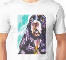 English Springer Spaniel  Bright colorful pop dog art Unisex T-Shirt