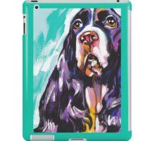 English Springer Spaniel  Bright colorful pop dog art iPad Case/Skin