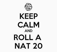 Roll a Nat 20. Unisex T-Shirt