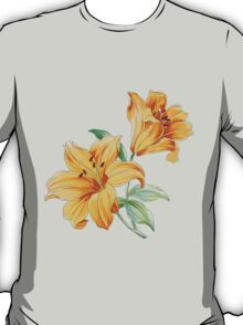 Yellow orchides T-Shirt