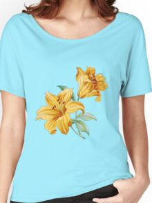 Yellow orchides Women's Relaxed Fit T-Shirt