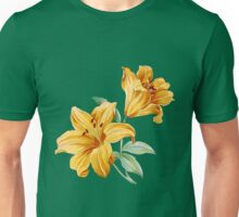 Yellow orchides Unisex T-Shirt