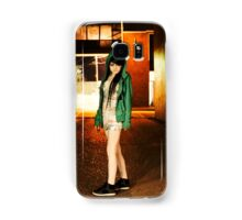 Clubber running from the cops Samsung Galaxy Case/Skin