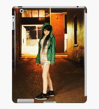 Clubber running from the cops iPad Case/Skin