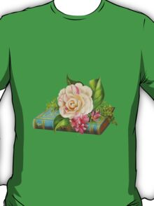 Flowers on the book T-Shirt